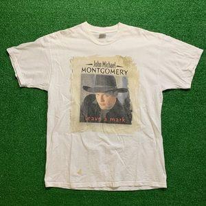 Vintage John Michael Montgomery Tour Shirt